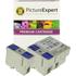 Epson T036 /T037 Compatible Black & Colour Ink Cartridge 3 Pack