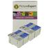 Epson T040 / T041 Compatible Black & Colour Ink Cartridge 4 Pack