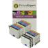 Epson T0445 Compatible Black & Colour Ink Cartridge 14 Pack