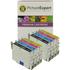 Epson T0445 Compatible Black & Colour Ink Cartridge 8 Pack