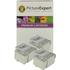Epson T0501 / T001 Compatible Black & Colour Ink Cartridge 6 Pack