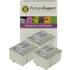 Epson T0501 / T0530 Compatible Black & Colour Ink Cartridge 6 Pack