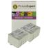 Epson T0501/T0520 Compatible Black & Colour Ink Cartridge 4 Pack