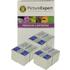 Epson T0511 / T0520 Compatible Black & Colour Ink Cartridge 6 Pack