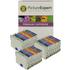 Epson T054 (T0540,1,2,3,4,7,8,9) Compatible Black & Colour Ink Cartridge 24 Pack