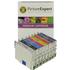 Epson T054 (T0540,1,2,3,4,7,8,9) Compatible Black & Colour Ink Cartridge 8 Pack