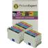 Epson T0556 Compatible Black & Colour Ink Cartridge 12 Pack