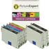 Epson T0556 Compatible Black & Colour Ink Cartridge 6 Pack