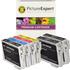 Epson T0615 Compatible Black & Colour Ink Cartridge 6 Pack