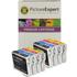 Epson T0615 Compatible Black & Colour Ink Cartridge 8 Pack