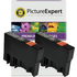 Epson T0711 Compatible Black Ink Cartridge TWINPACK