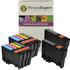 Epson T0715 Compatible Black & Colour Ink Cartridge 10 Pack
