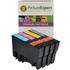 Epson T0715 Compatible Black & Colour Ink Cartridge 4 Pack