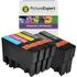 Epson T0715 Compatible Black & Colour Ink Cartridge 6 Pack