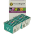 Epson T079 (T0791/2/3/4/5/6) Compatible High Capacity Black & Colour Ink Cartridge 12 Pack
