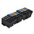 Epson T0807 Compatible Black & Colour Ink Cartridge 15 Pack