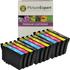 Epson T1285 Compatible Black & Colour Ink Cartridge 12 Pack
