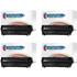 HP 12A ( Q2612A ) Compatible Black Toner Cartridge Quad Pack