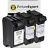 HP 15 / 17 ( C6615de / C6625ae ) Compatible Black x2 & Colour x1 Ink Cartridge 3 Pack
