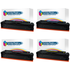 HP 201X (CF400/1/2/3X) Compatible High Yield Black & Colour Toner Cartridge Multipack