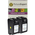 HP 23 ( C1823de ) Compatible Colour Ink Cartridge Twinpack