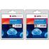 HP 300XL ( CC641EE / CC644EE ) AGFA Premium High Capacity Black and Colour Ink Cartridge Pack