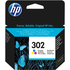 HP 302 ( F6U65AE ) Original Colour Ink Cartridge