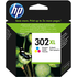 HP 302XL ( F6U67AE ) Original Colour Ink Cartridge