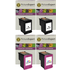 HP 302XL ( F6U68AE / F6U67AE ) Compatible High Capacity Black and Colour Ink Cartridge 4 Pack