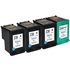 HP 338 High Capacity and 344 Compatible Black and Colour Ink Cartridge 4 Pack