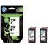 HP 339 ( C9504ee ) Original Maximum Capacity Black Ink Cartridges x2