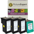 HP 339 and 344 Compatible Black and Colour Ink Cartridge 4 Pack