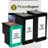 HP 350XL / 351XL Compatible Black x2 & Colour x1 Ink Cartridge 3 Pack