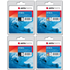 HP 350XL / 351XL Premium Black and Colour Ink Cartridge 4 Pack by AGFA