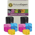 HP 363 Compatible B/C/M/Y/LC/LM Ink Cartridge 12 Pack