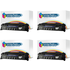 HP 49A ( Q5949A ) Compatible Black Toner Cartridge Quad Pack