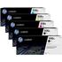 HP 508A (CF360A/61A/62A/63A) Original Black and Colour Toner Cartridge 5 Pack *100 Cashback*