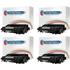 HP 55X ( CE255X ) Compatible High Yield Black Toner Cartridge Quadpack