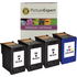 HP 56 / 57 ( C6656ae / C6657ae ) Compatible Black and Colour Ink Cartridge 4 Pack