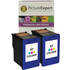 HP 57 ( C6657ae ) Compatible Colour Ink Cartridge Twinpack