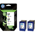 HP 57 ( C9503ae ) Original Colour Ink Cartridges Twinpack