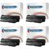 HP 61X ( C8061X ) Compatible High Yield Black Toner Cartridge Quadpack