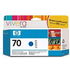 HP 70 ( C9458A ) Original Blue Ink Cartridge