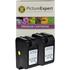 HP 78 ( C6578AE ) Compatible Maximum Capacity Colour Ink Cartridge Twinpack