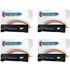 HP 85A ( CE285A ) Compatible Black Toner Cartridge Quad Pack
