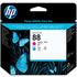 HP 88 ( C9382A ) Magenta and Cyan Original Printhead