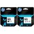 HP 901 Original Standard Black and Colour Ink Cartridge Pack