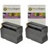 HP 932XL ( CN053AE ) Compatible High Capacity Black Ink Cartridge TWINPACK