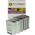 HP 940XL Compatible Black and Colour Ink Cartridge 6 Pack