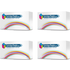 Konica Minolta 1710604-001/2/3/4 Compatible Black & Colour Toner Cartridge Multipack